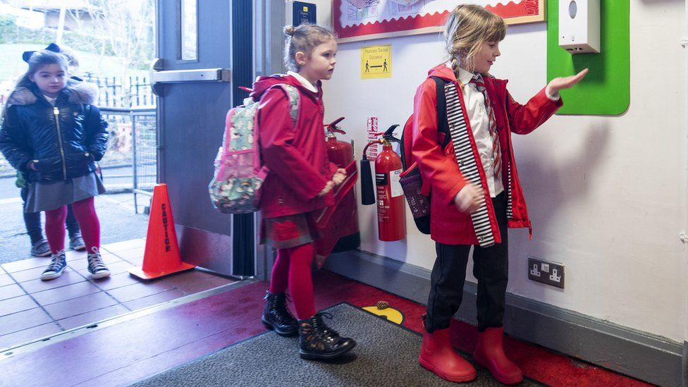 Back to school in Scotland