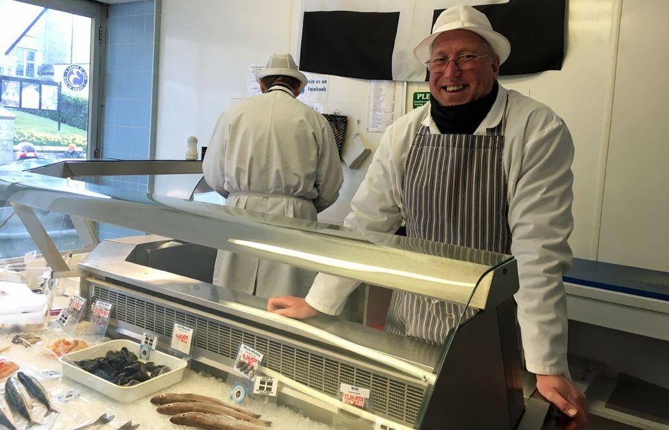 fishmonger Gareth Horner