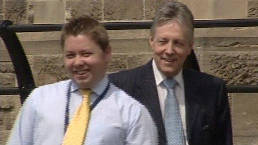 Timothy Johnston and Peter Robinson