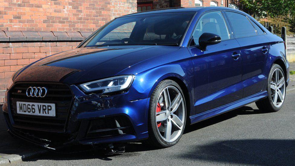 Stolen Audi