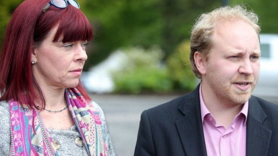 Clare Bailey and Steven Agnew