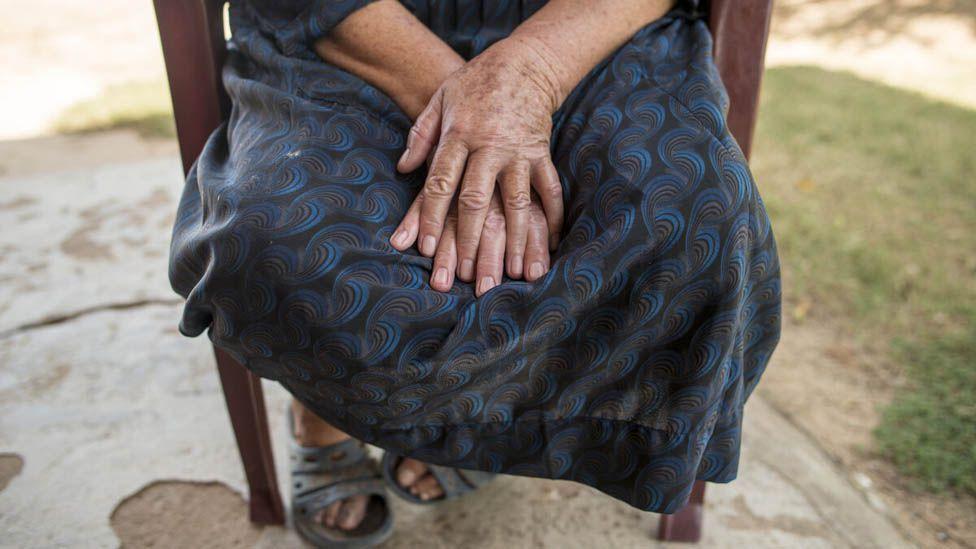 A woman's hands