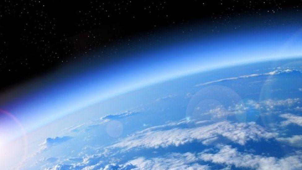 Atmósfera sobre la superficie de Tierra