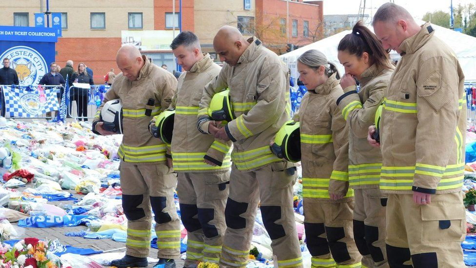 Leicestershire firefighters