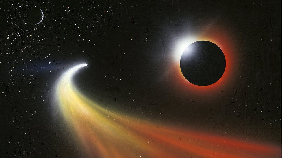 El enigmático cometa que podría haber venido desde fuera del Sistema Solar