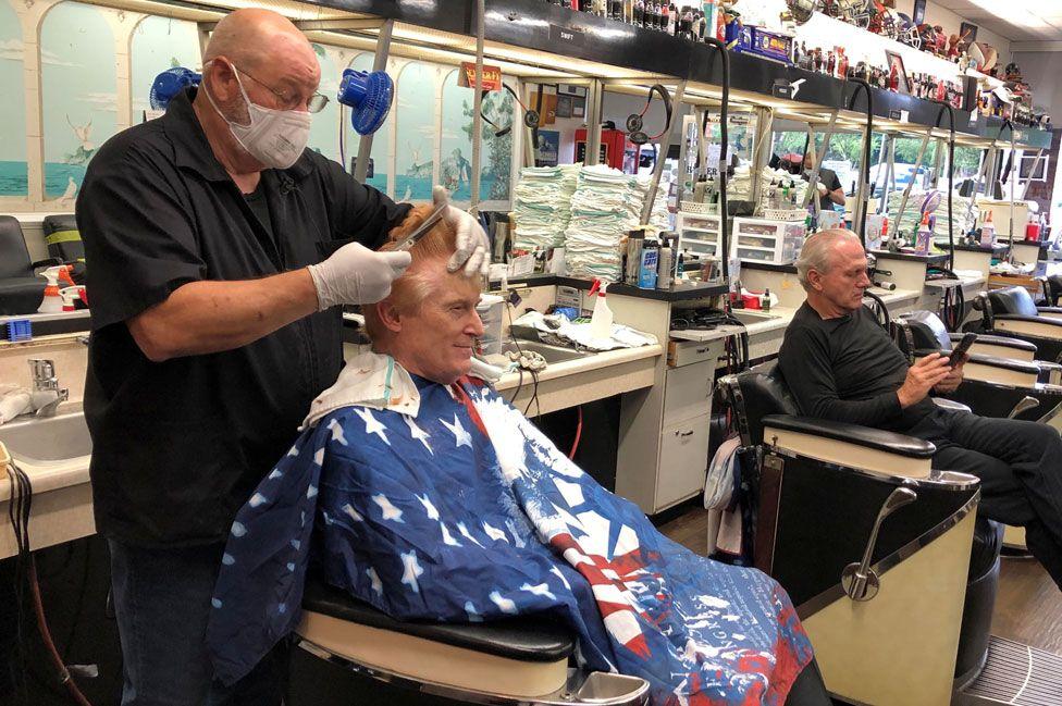 Barber shop in Atlanta