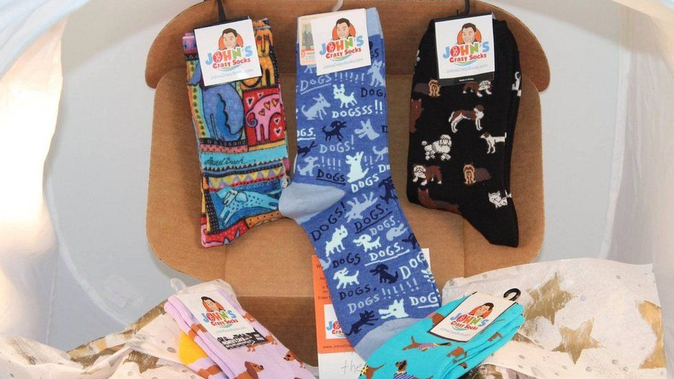 The Million Dollar Sock Entrepreneur With Down S Syndrome Bbc News More than 43 daddy socks at pleasant prices up to 141 usd fast and free worldwide shipping! the million dollar sock entrepreneur