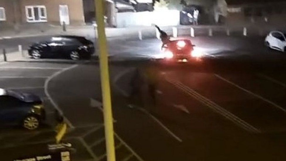 Hit and run incident