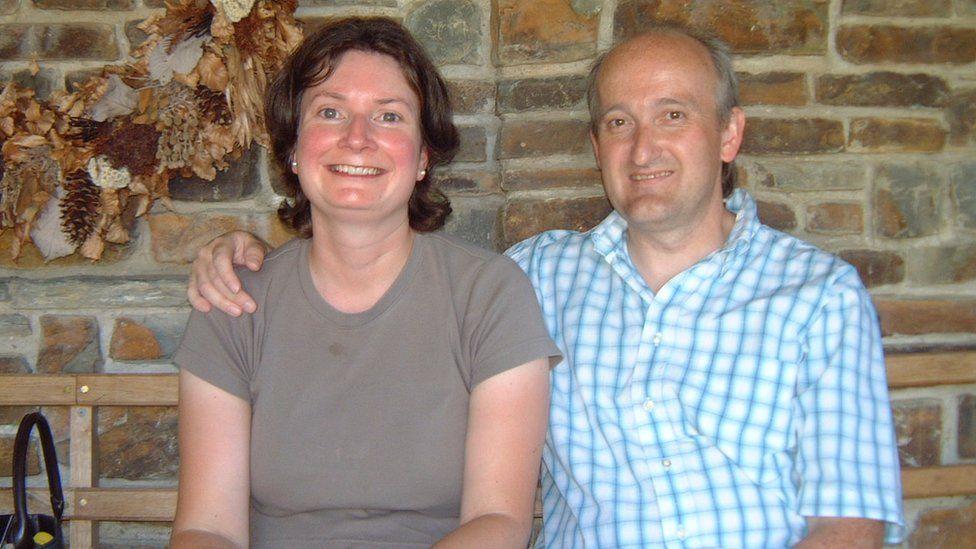 Susan Steel and husband Martin