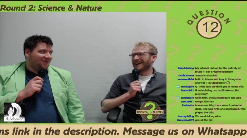 Screenshot of Goose's Quizzes