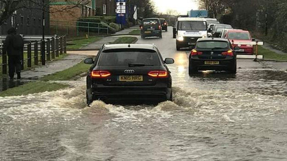 Flooding in Burgess Hill
