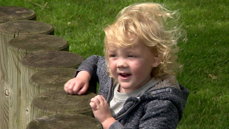 Three-year-old Alfie Mason