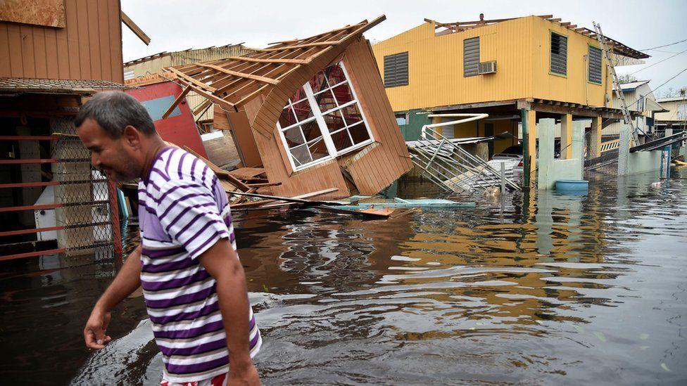 Maria aftermath in Puerto Rico