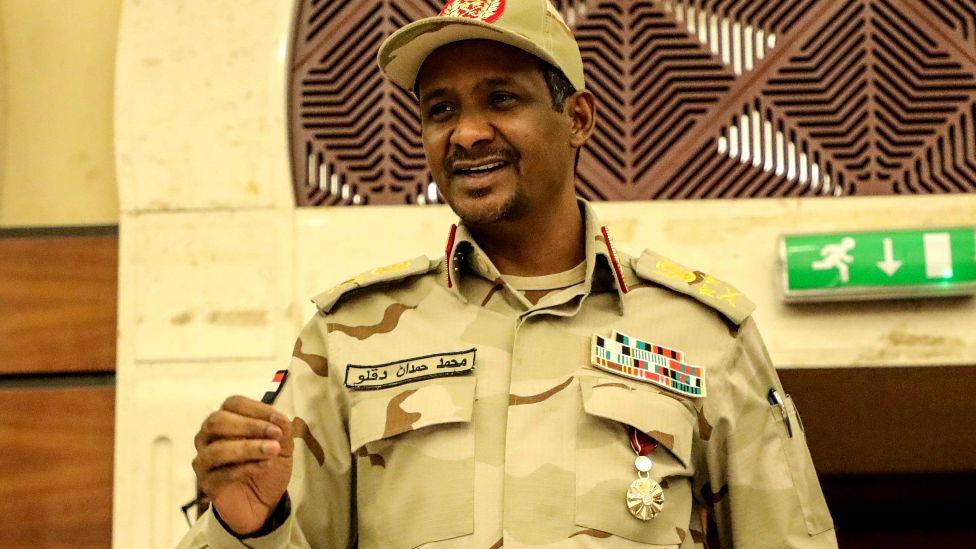 """Lt-Gen Mohamed Hamdan Dagolo, known as """"Hemeti"""""""