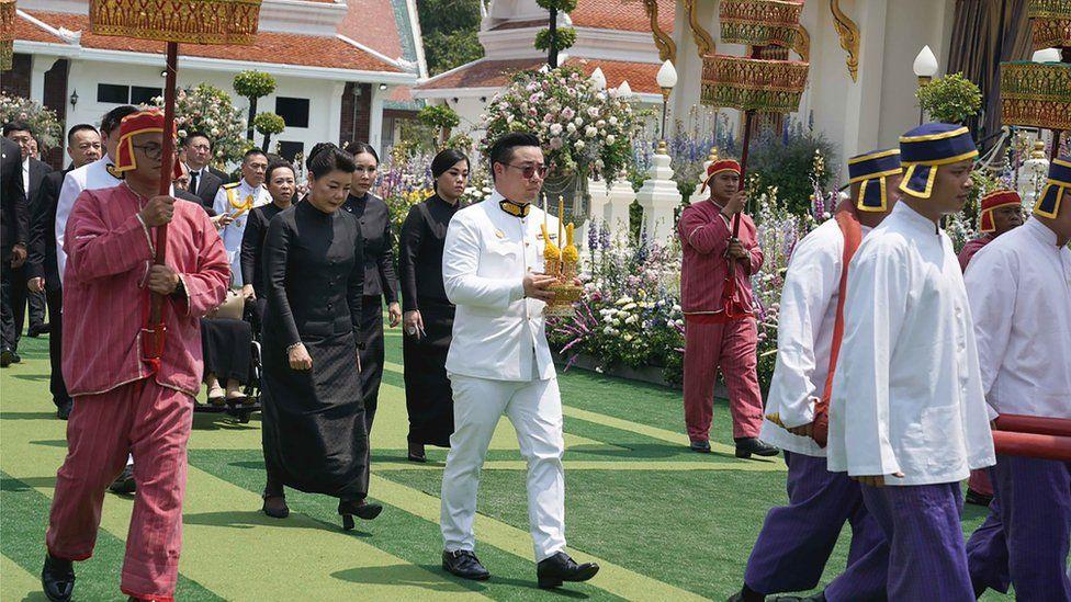 Aiyawatt Srivaddhanaprabha Vichai cremation Leicester City Bangkok