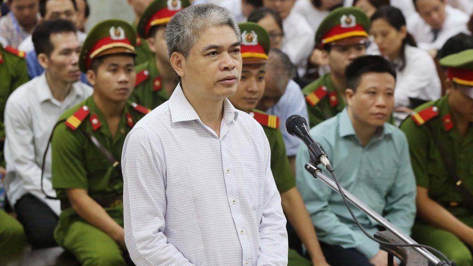 Nguyen Xuan Son standing trial in Hanoi