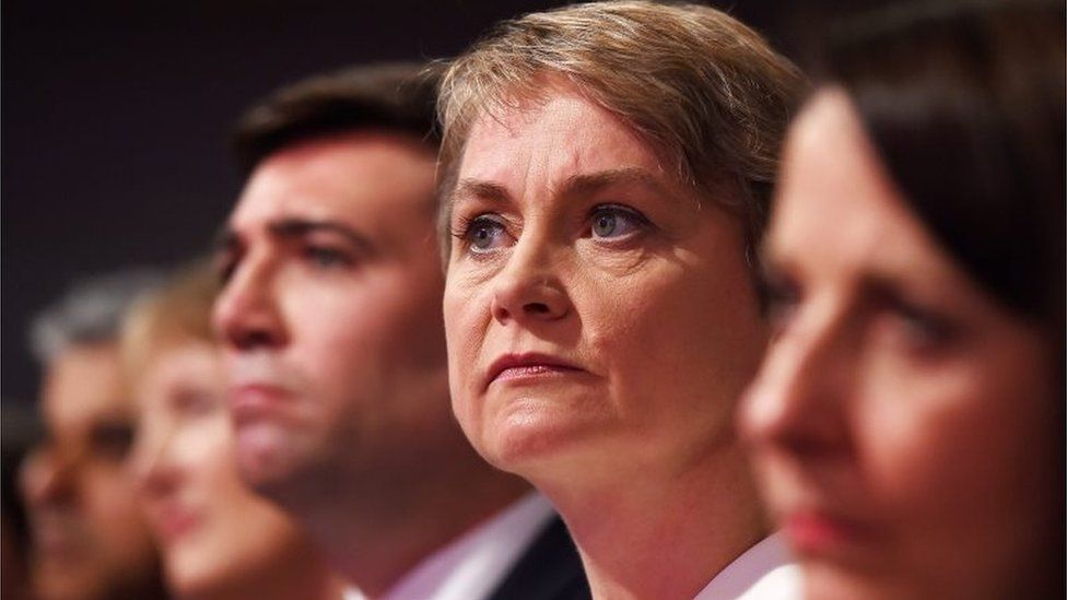 Andy Burnham, Yvette Cooper and Liz Kendal