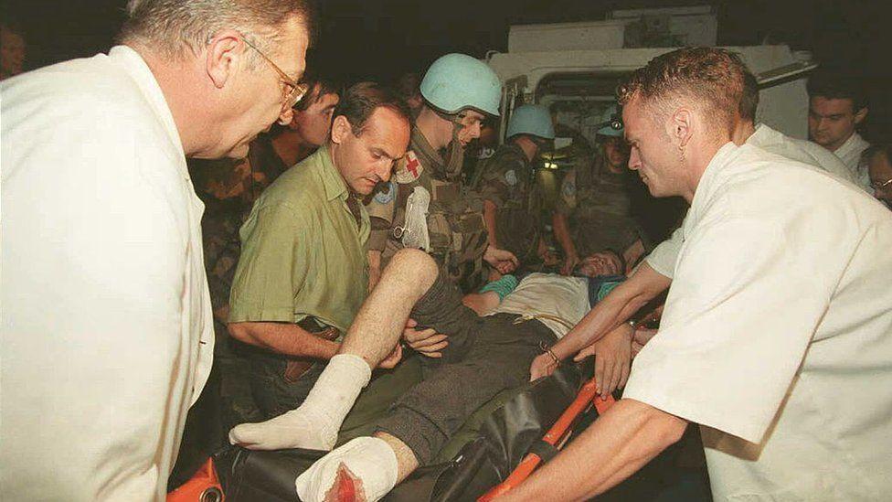 Евакуація поранених з Жепи