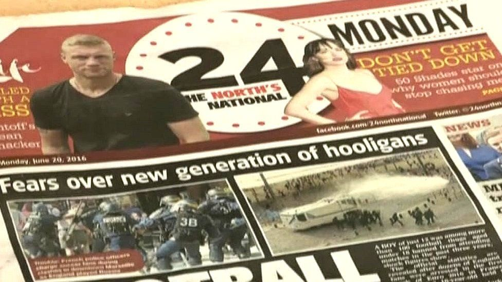 Front Page of 24