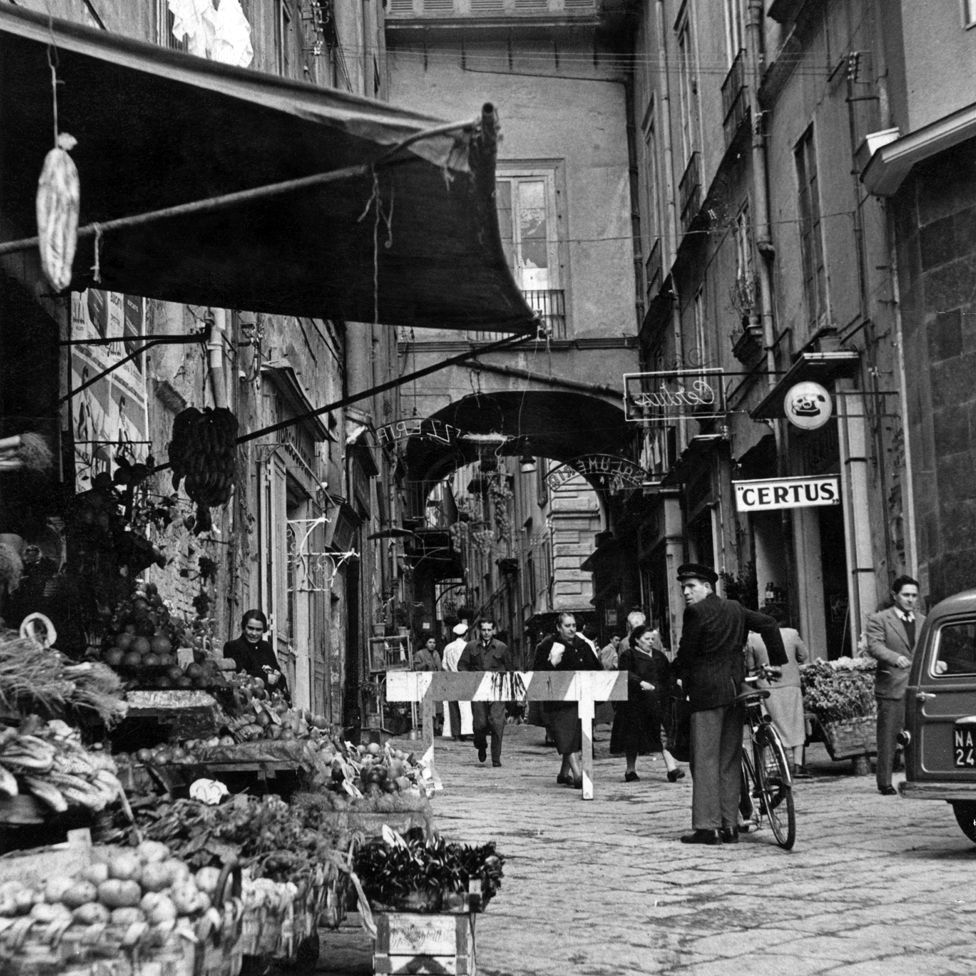 Naples in the 1950s