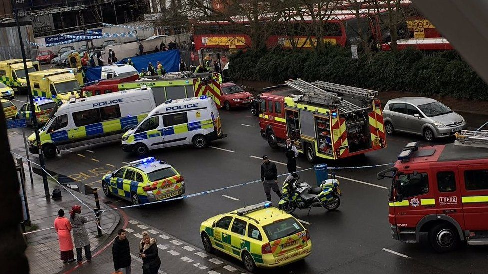 Incident on Bromley Road