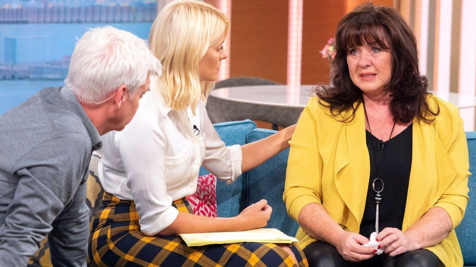 Phillip Schofield, Holly Willoughby and Coleen Nolan