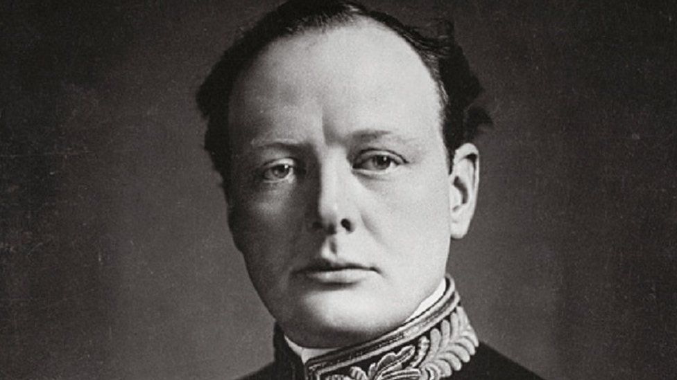 A picture of Winston Churchill as First Lord of the Admiralty, taken in 1914
