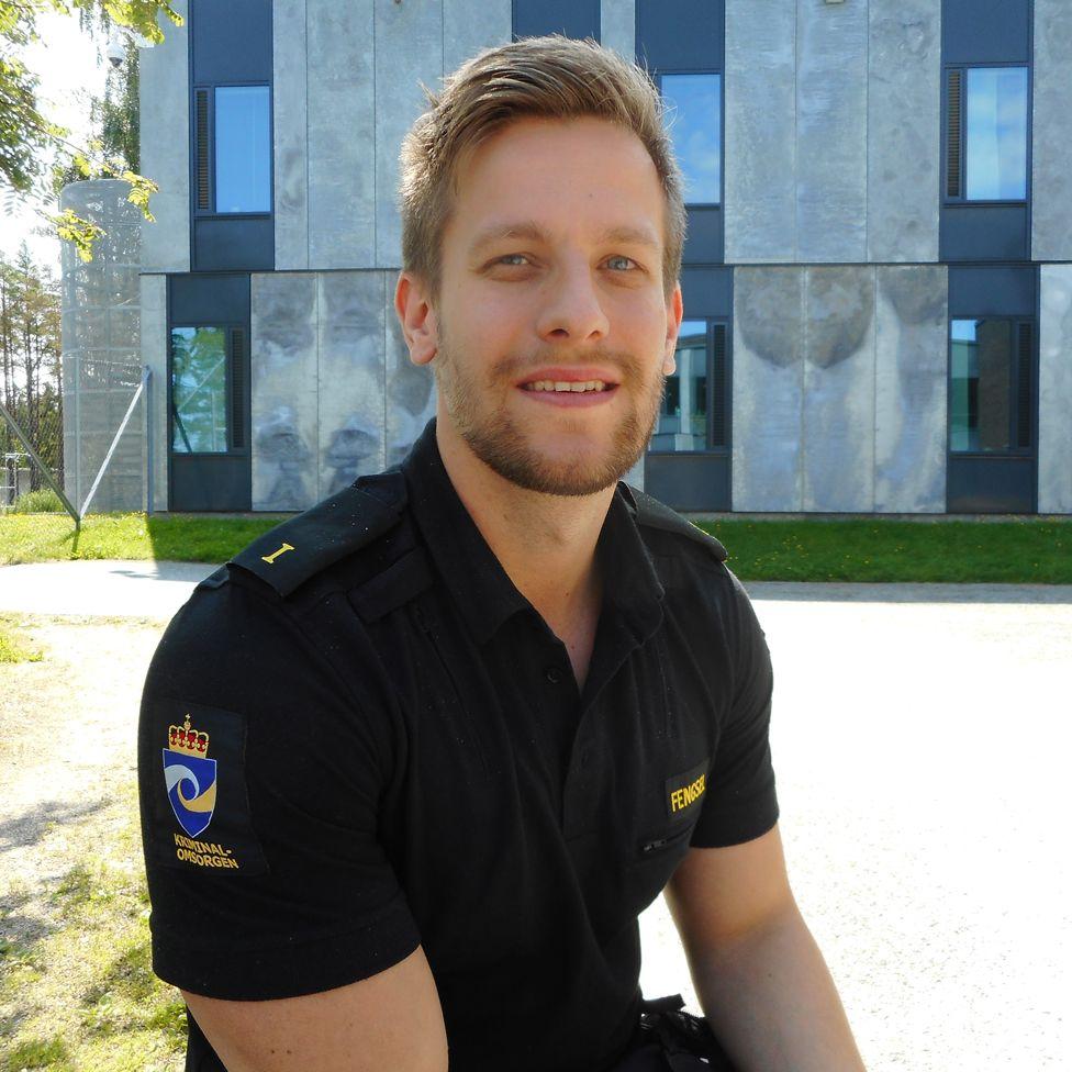 Prison guard Jon Fredrik Andorsen