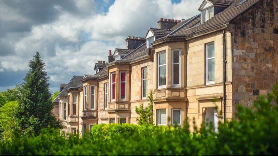 Glasgow terrace homes