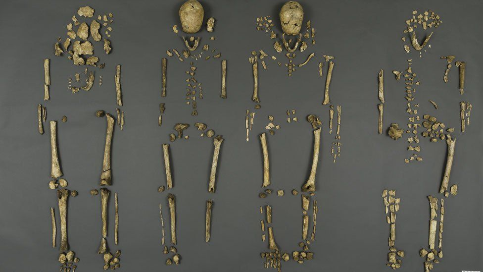 the remains of the Jamestown leaders