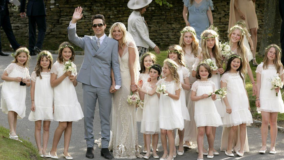 Kate Moss's wedding to Jamie Hince in 2011