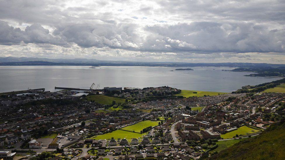 View of Burntisland Shipyard