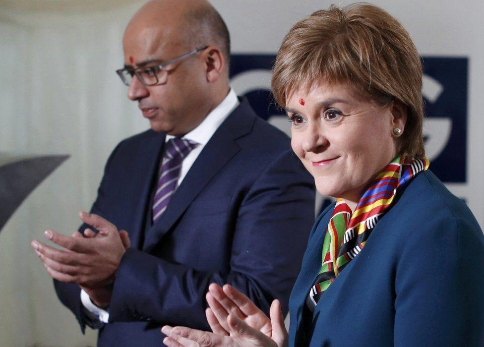 Nicola Sturgeon and