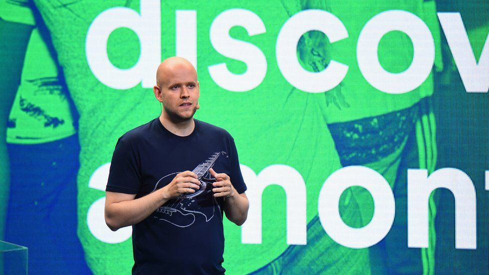 Founder of Spotify Daniel Ek