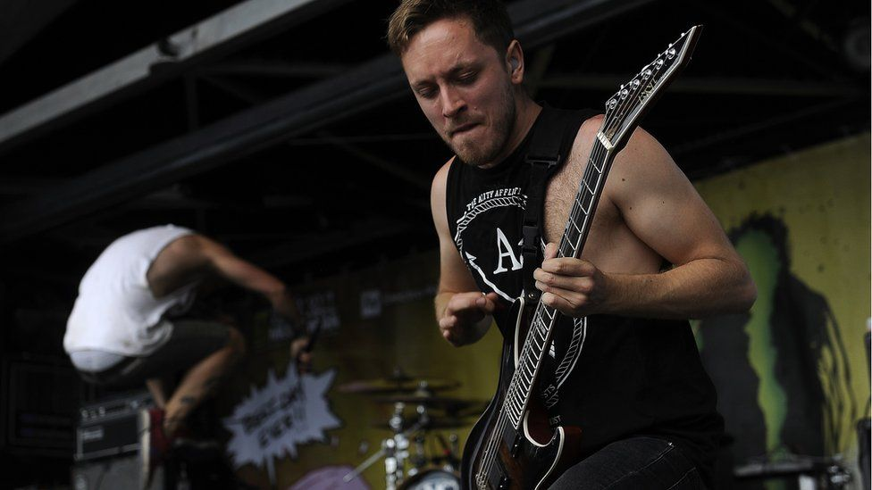 Architects' Tom Searle playing live