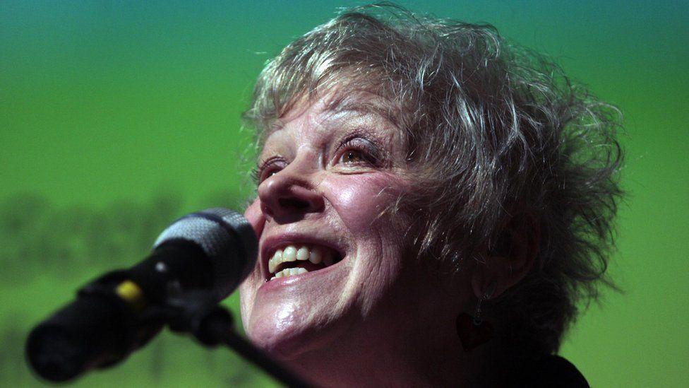 Liz Lochhead in 2011