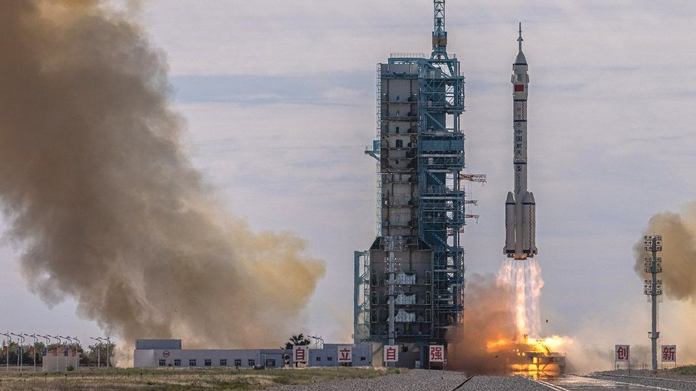 China launches Shenzhou-12 spacecraft