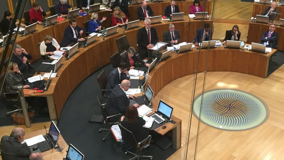 Welsh Assembly chanmber
