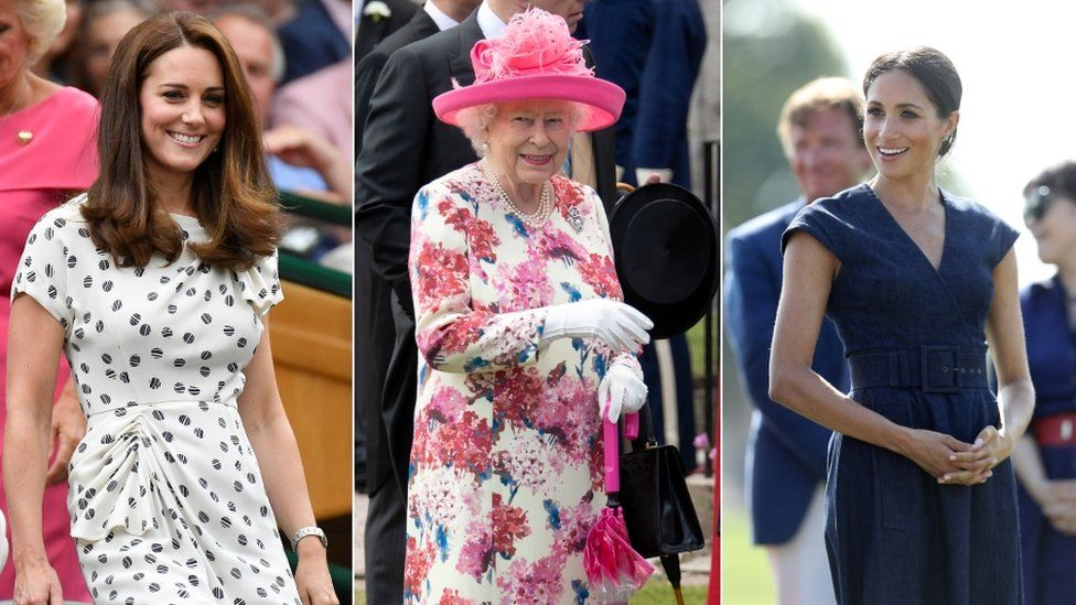 The Duchess of Cambridge, the Queen and the Duchess of Sussex were all praised by Tatler