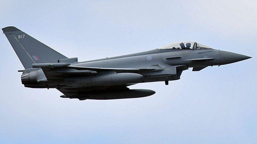 RAF Eurofighter Typhoon (library image)