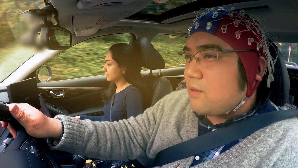 Nissan brain-to-vehicle interface