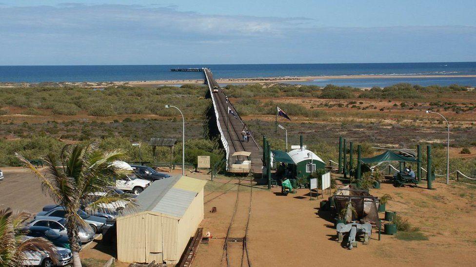 Carnarvon, Awstralia: Tebyg i Ddinas Dinlle?