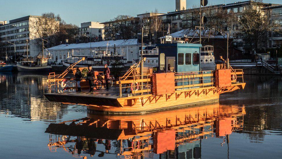 The Fori ferry