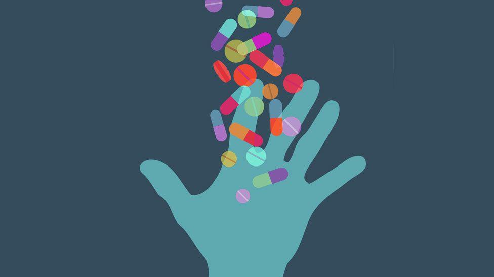 Drug illustration