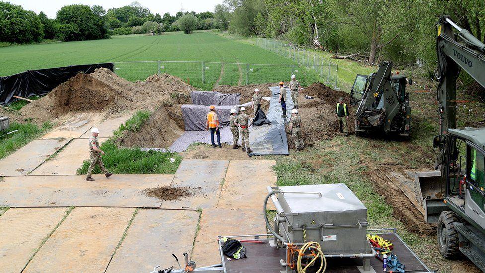 Katrice Lee excavation site