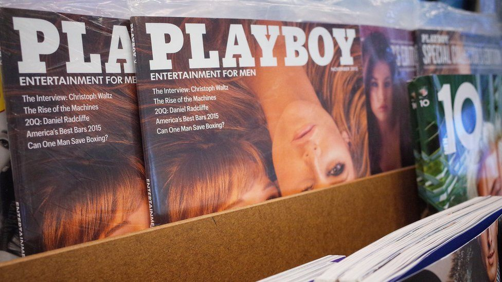 Picture of playboy magazines