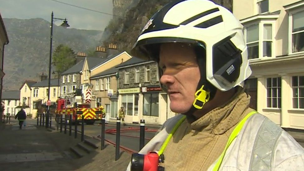 Geraint Hughes, North Wales Fire and Rescue Service