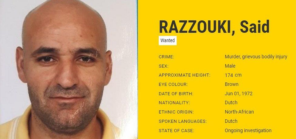 Said Razzouki, Europol notice