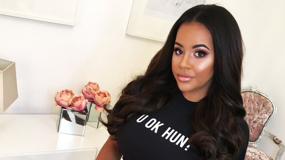 U ok hun? T-shirt modelled by Lateysha Grace