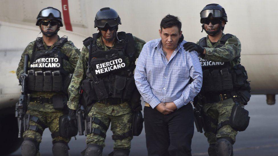 Omar Trevino Morales, leader of Mexico's notorious Los Zetas drugs cartel